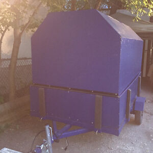 Custom Built Enclosed 5'Wx8'Lx5'H trailer $1500