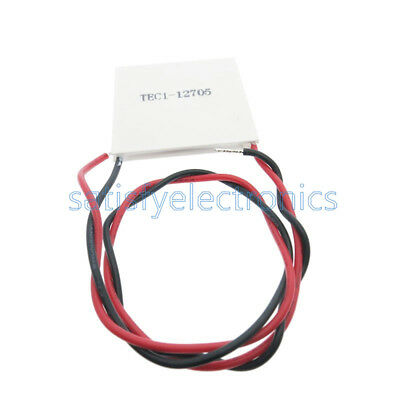 New Tec1-12705 Heatsink Thermoelectric Cooler Cooling Peltier Plate Module
