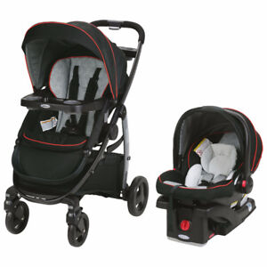 New Graco Modes 3 in 1 Travel System with Extra Car Base