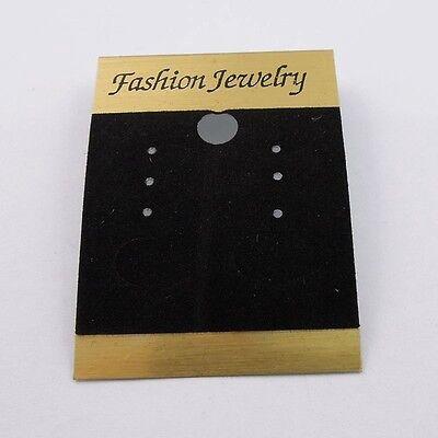 36829 Pvc Black Jewelry Case Earring Display Hanging Card Hot Sale 54cm 100pcs