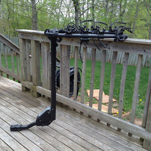 CCM 4 Bike Hitch Two Arm Carrier