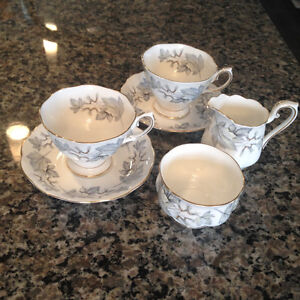 Silver Maple Tea Set