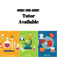 Science, Chemistry & Biology Tutor Available!