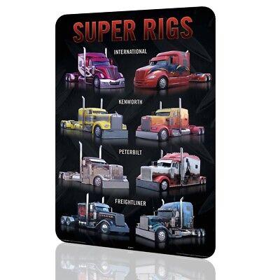 METAL SIGN KENWORTH Trucks SUPER RIGS Poster Classic #5 DECOR Garage Wall Art