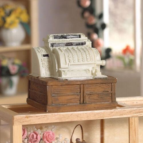 Shop Till, Dolls House Miniature, Cash Register Olden Style. 1.12 Scale