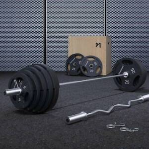【ON SALE】Rubber Coated Olympic Weights Plates