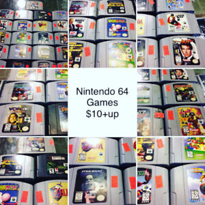 Nintendo 64 games videogames NES games $10+up