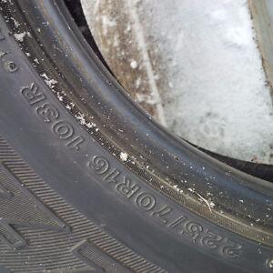 Bridgestone Blizzak Winter Tires - Excellent 225/70/R16 Gatineau Ottawa / Gatineau Area image 5