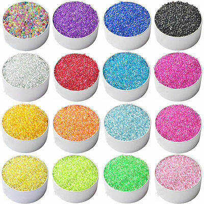 4000PCS Bulk 2mm Czech Seed Spacer Beads Jewelry Making DIY Finding Crafts-AW