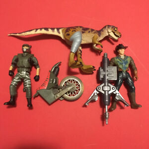 The Lost World: Jurassic Parks Lot of Action Figures toys