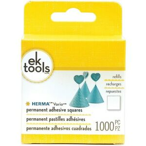 NEW: EK Success Tools Herma Vario Refill Permanent Adhesive Squa