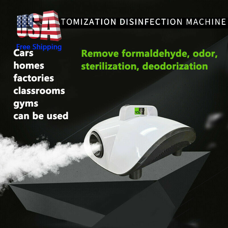Portable Car Disinfection Sprayer Home Party Smoke Machine Stage Fogger