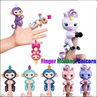 6 Modi Smart Unicorn Finger Affe Interaktive Elektronische Finger Spielzeug
