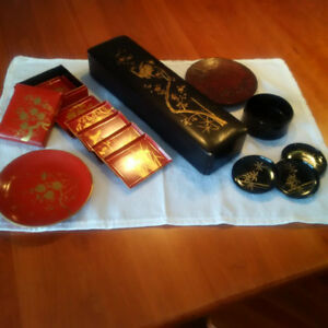 Lacquer collectibles from the Orient