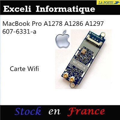 Apple MacBook Pro A1278 A1286 A1297 monocoque wifi airport card p / n 607-6331-a