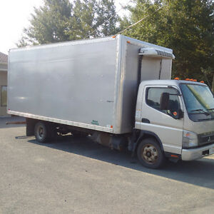 Mitsubishi Fuso FE180 Diesel Refered Truck 18 Ft Box