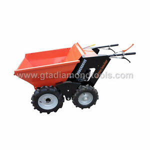Power wheel barrow for sand Gravel dirt Minitruck Concrete buggy Peterborough Peterborough Area image 1