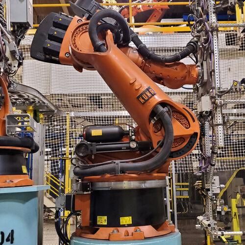 Kuka KR360 Robot - Complete Robotic System w/ KRC2ed05 Controller - 360kg