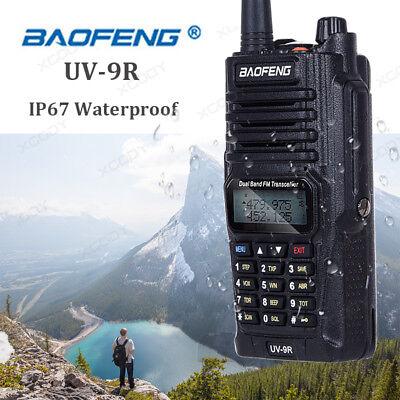 1x BAOFENG UV-9R Waterproof Dual Band Two Way Radio Transceiver Walkie Talkie (Waterproof Transceiver)