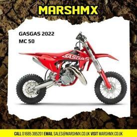 Gas Gas MC 50 Mx Bike 2022 Model - Nil Deposit Finance Available