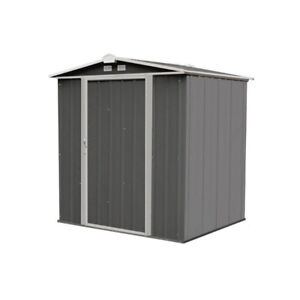 EZEE 6 ft. W x 5 ft. D Metal Tool Shed new in box