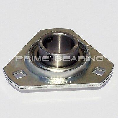 New Sbpft205-16 1 Pressed Steel Triangle 3-bolt Flange