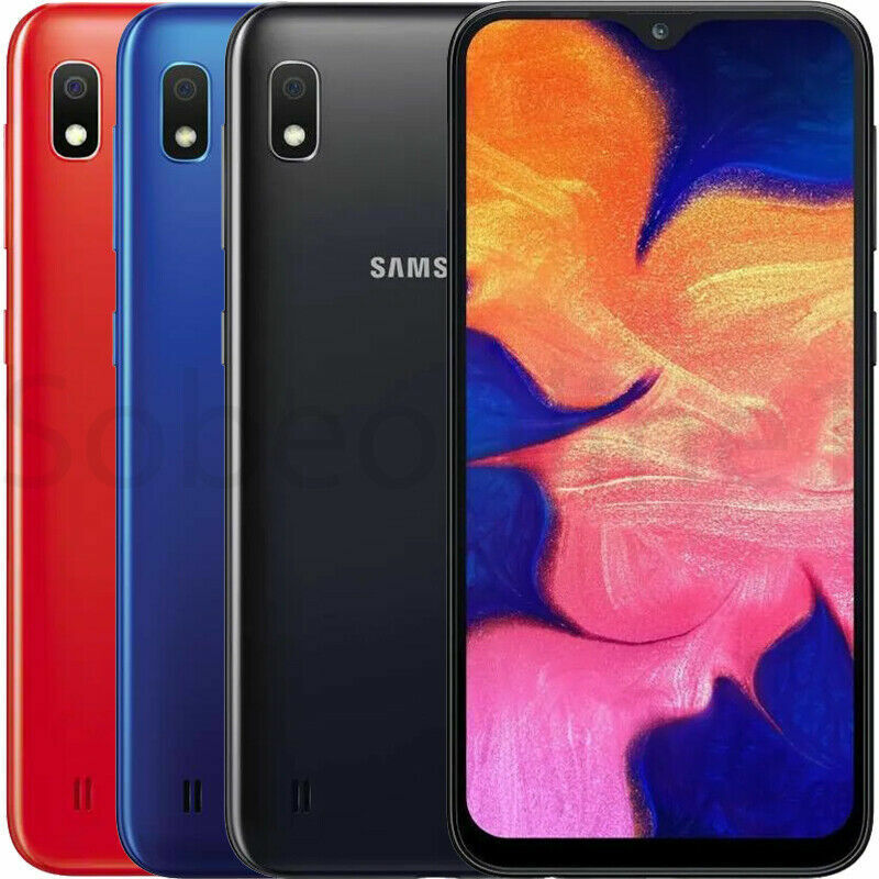 """Android Phone - Samsung Galaxy A10 (32GB + 32GB SD) 6.2"""" 4G LTE GSM Factory Unlocked"""
