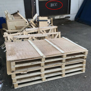 FREE ply wood pallet skid