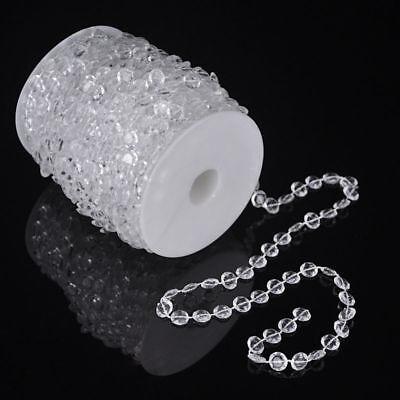 99 FT Garland Diamond Strand Acrylic Crystal Bead Beaded Wedding Decoration (Wedding Decore)