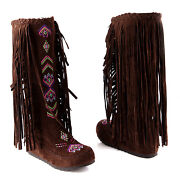Knee High Moccasins