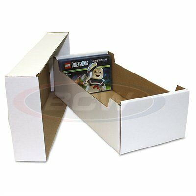 x1 BCW POSTCARD STORAGE BOX - Holds 700 4 x 6 POSTCARDS or 150 toploaders