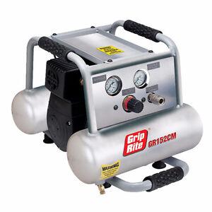 Compressor - Grip-Rite GR152CM 1.5HP 2 Gallon Twin Tank *NEW*
