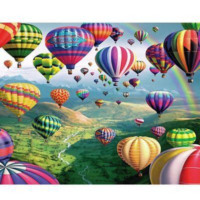 Hot Air Balloon DIY Full Drill 5D Diamond Painting Cross Stitch Room Home Decor  - Diy Hot Air Balloon