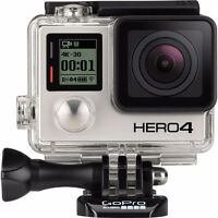 want gopro hero 4 silver or black