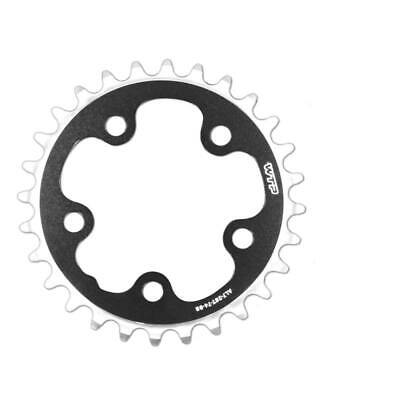 Corona racing bike aluminium 30 Teeth 74 MM Black 5 Arm NEW