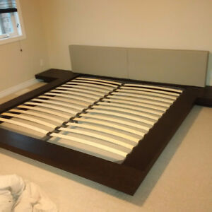 Modloft Worth Platform Bed w/Mattress - King Size - RARE FIND Kitchener / Waterloo Kitchener Area image 5
