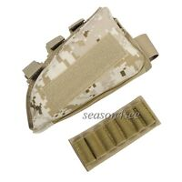 Outdoor Tactical Airsoft Molle Ammo Bullet Carrier Holder Pouch Leather Pad - unbranded - ebay.co.uk