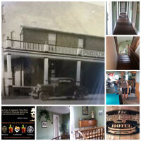Paranormal Investigation & Dinner at Historic Sprucedale Hotel
