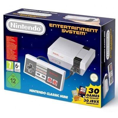 Console NINTENDO CLASSIC MINI NES - Nintendo Entertainment System 30 GIOCHI