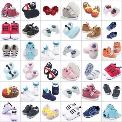 DE Babyschuhe Kinder Canvas Sneaker Turnschuhe Schuhe Mädchen Jungen Baby Shoes