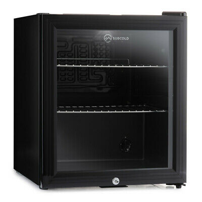 Subcold Super 50 LED Black | Mini Fridge | UK's Top Selling Beer Fridge | A+
