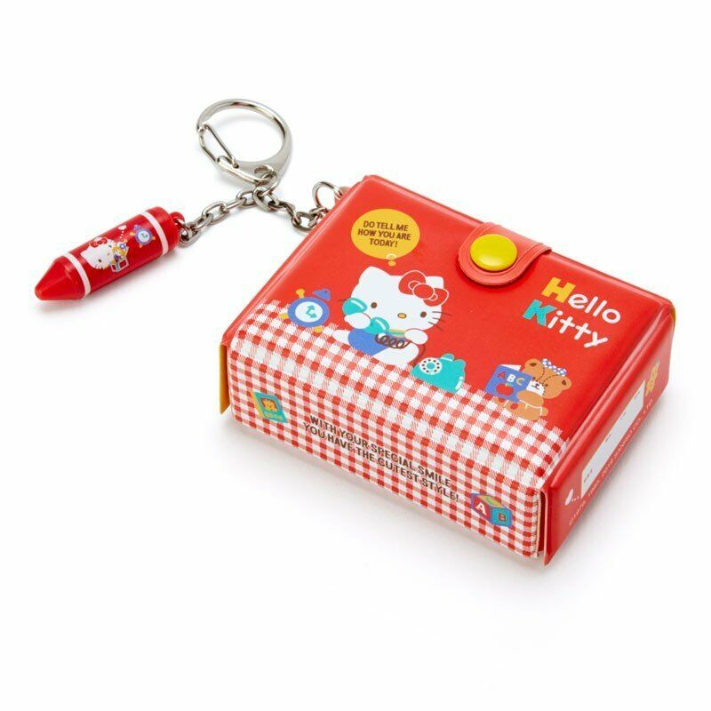 Hello Kitty Keychain Key Holder Tool Box shape Sanrio Japan