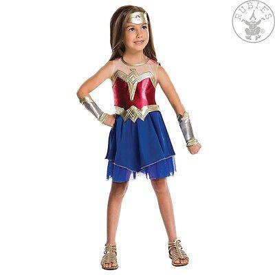 RUB 3620558 Kinder Mädchen Kostüm Wonder Woman Kinderkostüm 9 - 10 Jahre 140 - Wonderwoman Kostüm Kind