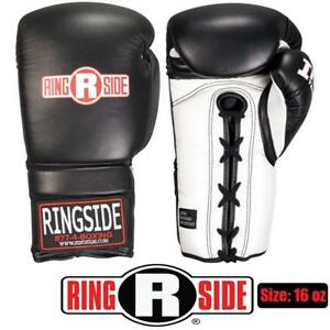 NEW Ringside Imf Tech Training Gloves Condtion: New, black and white, 16 oz