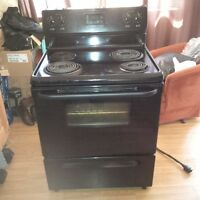 Black Frigidaire Electric Stove