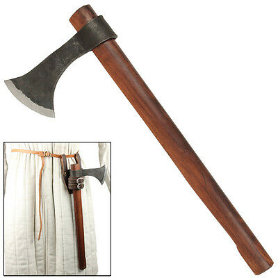 Medieval Renaissance Antiqued Vikings Francisca Re Enactment Costome Axe