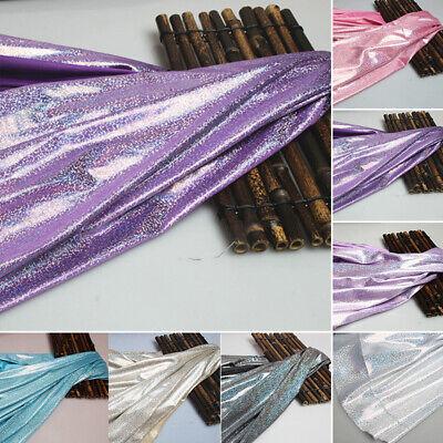 Laser-Gewebe Dekorieren Glänzend Kleidung Kostüme Stoffe Attraktiv (Attraktive Kostüm)