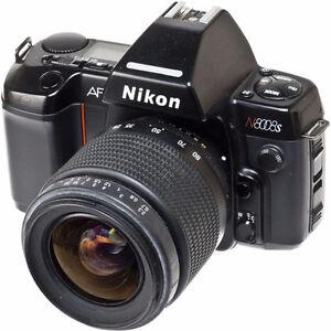 Nikon 8008s camera