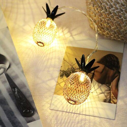 Vintage Pineapple Small LED Fruit Lantern Bedroom Decor Wate
