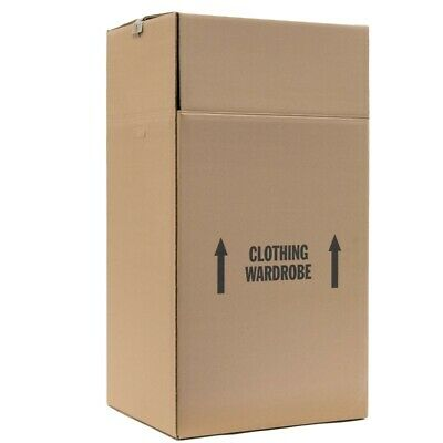 Hanging Wardrobe Boxes For Moving 24 X 22 X 48 Pack Of 3